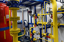 Gas-supply systems installation