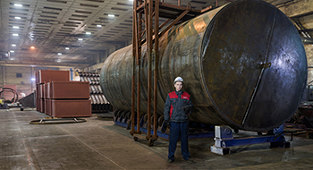 Steel tanks manufacture